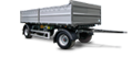 TWO, THREE AND FOUR AXLE DRAWBAR TRAILERS